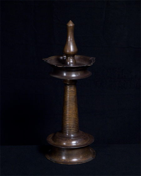 Oil Lamp from a Temple